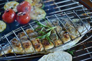 Fisch vom Grill ist sehr gesund